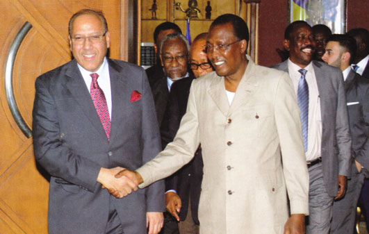 President Idriss Déby Itno of the Republic of Chad.