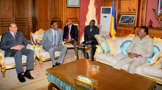 Meeting with President Idriss Déby Itno