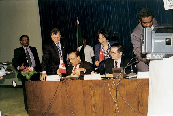 Signing the Consortium Agreement