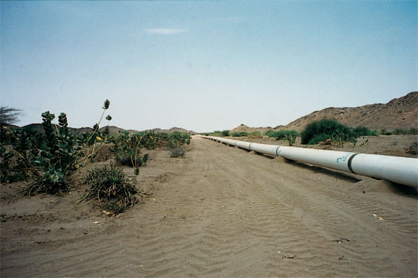 900-mile pipeline from Heglig Oilfield